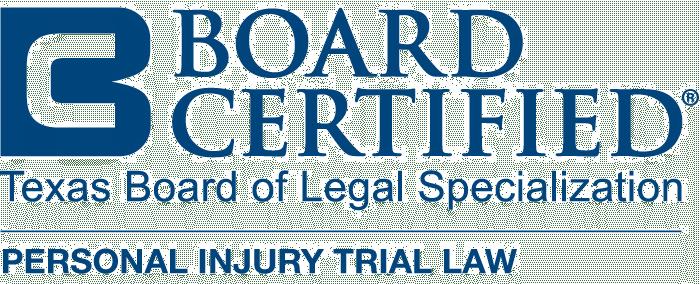 Board Certified | Luke Bickham | Texas Personal Injury Lawyer